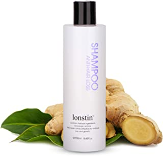 شامبو مضاد لتساقط الشعر Anti-Hair Loss Shampoo with Ginger, Promote Hair Growth and Increase Hair Density, for Men and Wom...