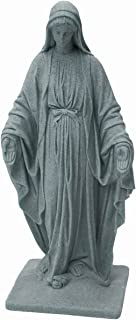 "EMSCO Group Virgin Mary Statue – Natural Appearance – Made of Resin – Lightweight – 34"" Height"