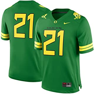 Oregon Ducks #21 2016 Green Football Youth Jersey (Youth M)