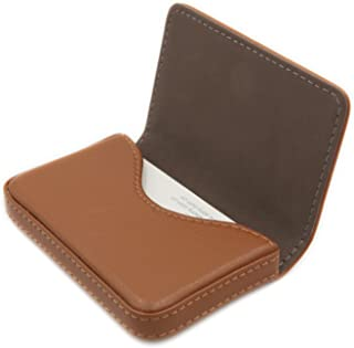 RFID Blocking Wallet - Minimalist Leather Business Credit Card Holder with Magnetic