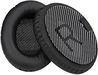 Replace Ear Pads Cushions Leather for Bose QuietComfort QC35 Headphones BK