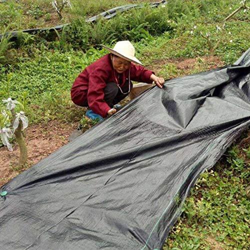 MAHFEI Gartenvlies Unkrautvlies, Schwerlast Gewebelandschaft Bodendecker UV-stabilisiert Antialterung Unkrautfolie Für Blumenbeete Landschaftsbau Halten Sie Die Luftfeuchtigkeit Aufrecht