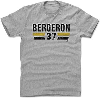 500 LEVEL Patrice Bergeron Shirt - Boston Hockey Men's Apparel - Patrice Bergeron Font