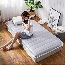 Student Dormitory Folding Mattress Futon Mattress Topper, Tatami Bed Mattress Anti-Slip Floor Mat, Single Double Sleeping ...