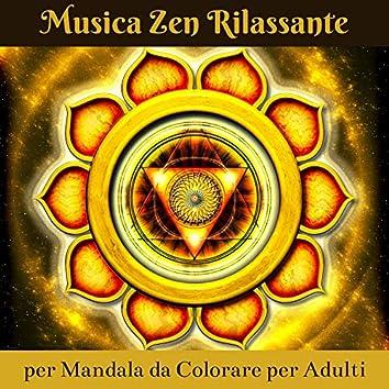 Musica zen rilassante per mandala da colorare per adulti