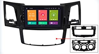 Android 10.0 Car Stereo Radio Sat Nav for Toyota Hilux Fortuner 2004-2014 GPS Navigation Head Unit Multimedia MP5 Player V...