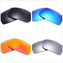 a1d537023a Set of 4 Polarized Replacement Lenses for Oakley Gascan Sunglasses NicelyFit