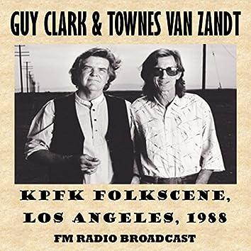 Kpfk Folkscene, Los Angeles, 1988 (Fm Radio Broadcast)