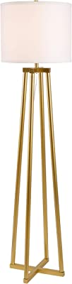 Kenroy Home 35278PGLD Annalee Floor Lamps, Painted Gold