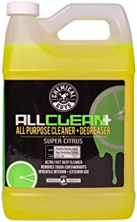 Chemical Guys CLD_101 All Clean+ Citrus-Based All Purpose Super Cleaner+ Degreaser, 1 Gal , Green