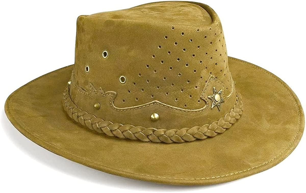 Cowboy Hat Western Real Leather for Mens and Womens Australian Country Man Style