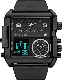 Men's Watches Digital Sports Watch LED Square Analog...