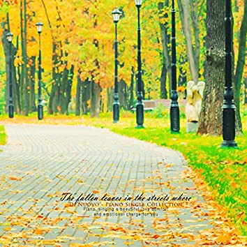 In the streets where leaves fall