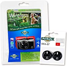 PetSafe PIF-275-19 Wireless Fence Dog Collar with 2 Free Batteries, 10 x 9 x 4