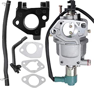Anxingo Carburetor for Harbor Freight Predator 420CC 13HP 14HP 15HP 16HP RATO R420-III Engine 69671 68530 68525 7000W 8750W 7000 8750 Watts Generator