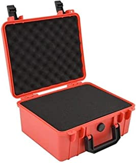 280x240x130mm Safety Instrument Tool Box ABS Plastic storage Toolbox Sealed Tool case box With Foam Inside 4 color (Color ...