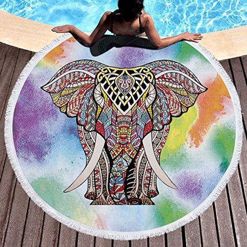 RollingRolling Indian Mandala - Toalla de playa