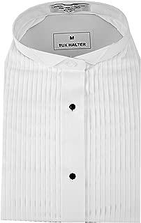 Halter-Top Tuxedo Shirt