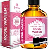Rose Water Facial Toner by Leven Rose, Pure Natural Moroccan Rosewater...