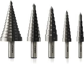 Neiko 10198A Metric Step Drill Set   5-Piece Metric
