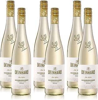 6 Flaschen Weisswein Deinhard Weissburgunder Pfalz Alte Reben QbA, trocken, sortenreines Weinpaket 6x0,75l