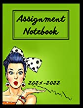 Assignment Notebook 2021-2022: assignment notebook 2021-2022 elementary   assignment book middle school   assignment book ...