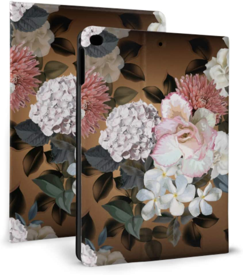 Case for ipad 2017 2018 Factory outlet Chrysanth 1 Floralhydrangea air Challenge the lowest price of Japan 2