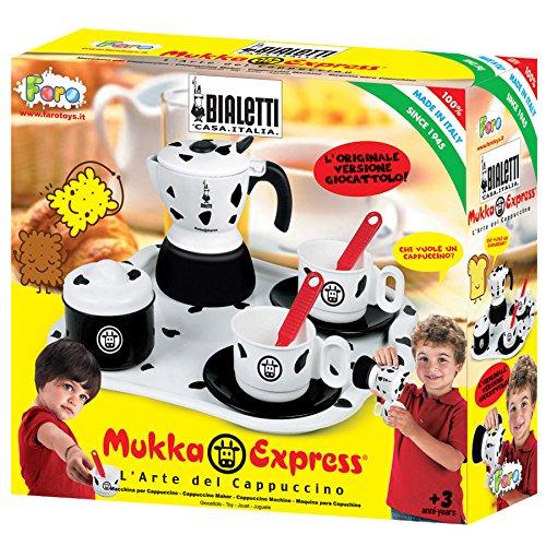 Faro - 2745 - Imitazione Gioco - Cucina - Service Set Un Tea Tray con Mukka Express - 29 X 26,5 X 9,5 Cm