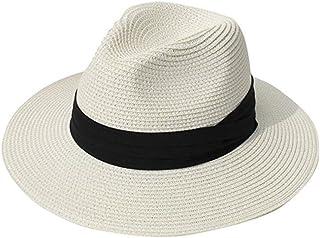 fieldlabo ちょいわるオヤジの パナマハット 中折帽 麦わら 遮光 UV 紫外線 メンズ ゴルフ レジャー