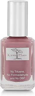 Karma Organic Natural Nail Polish-Non-Toxic Nail Art, Vegan and Cruelty-Free Nail Paint (Wine O'clock)