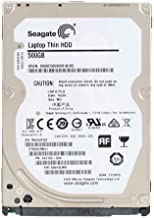 Seagate Laptop Thin 500 GB 7200RPM SATA 6 GB/s 32 MB Cache 2.5 Inch Hard Disk Drive (ST500LM021) (Renewed)