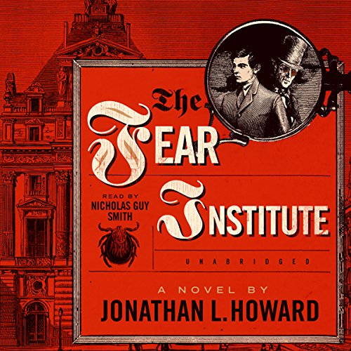 The Fear Institute audiobook cover art