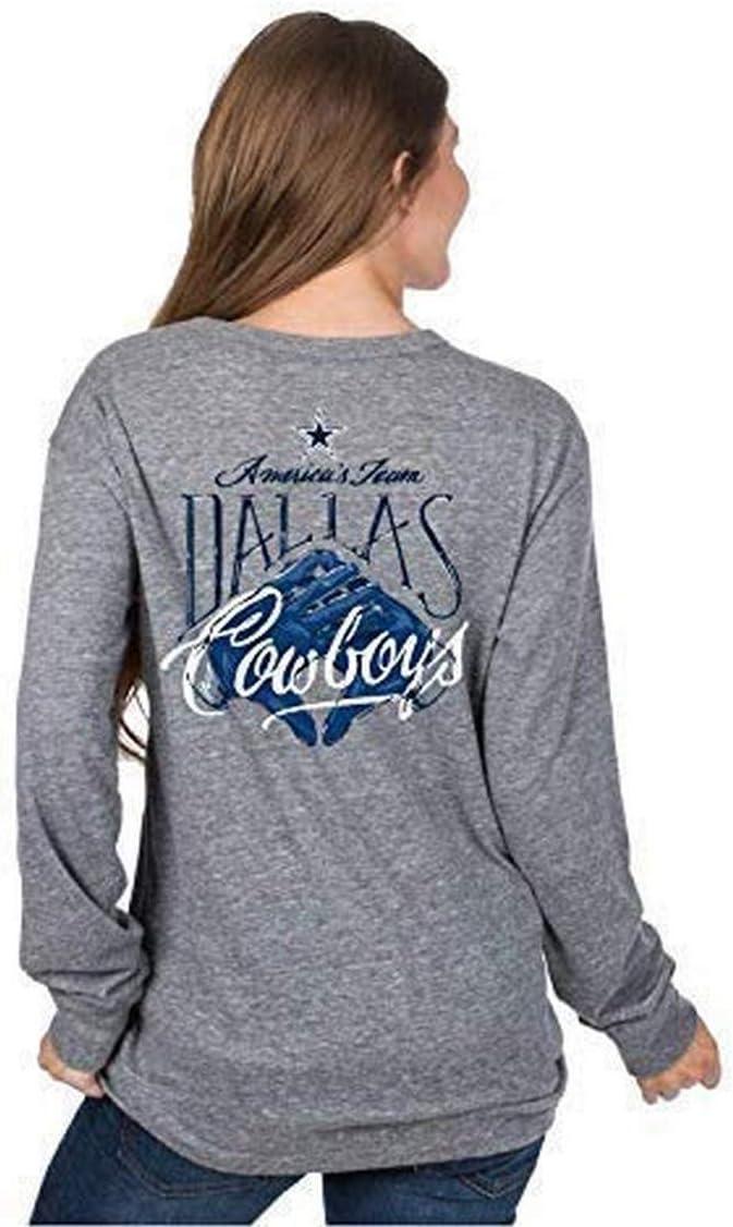 Dallas Cowboys Minneapolis Mall Virginia Beach Mall Women's Hand Long Tee Sleeve