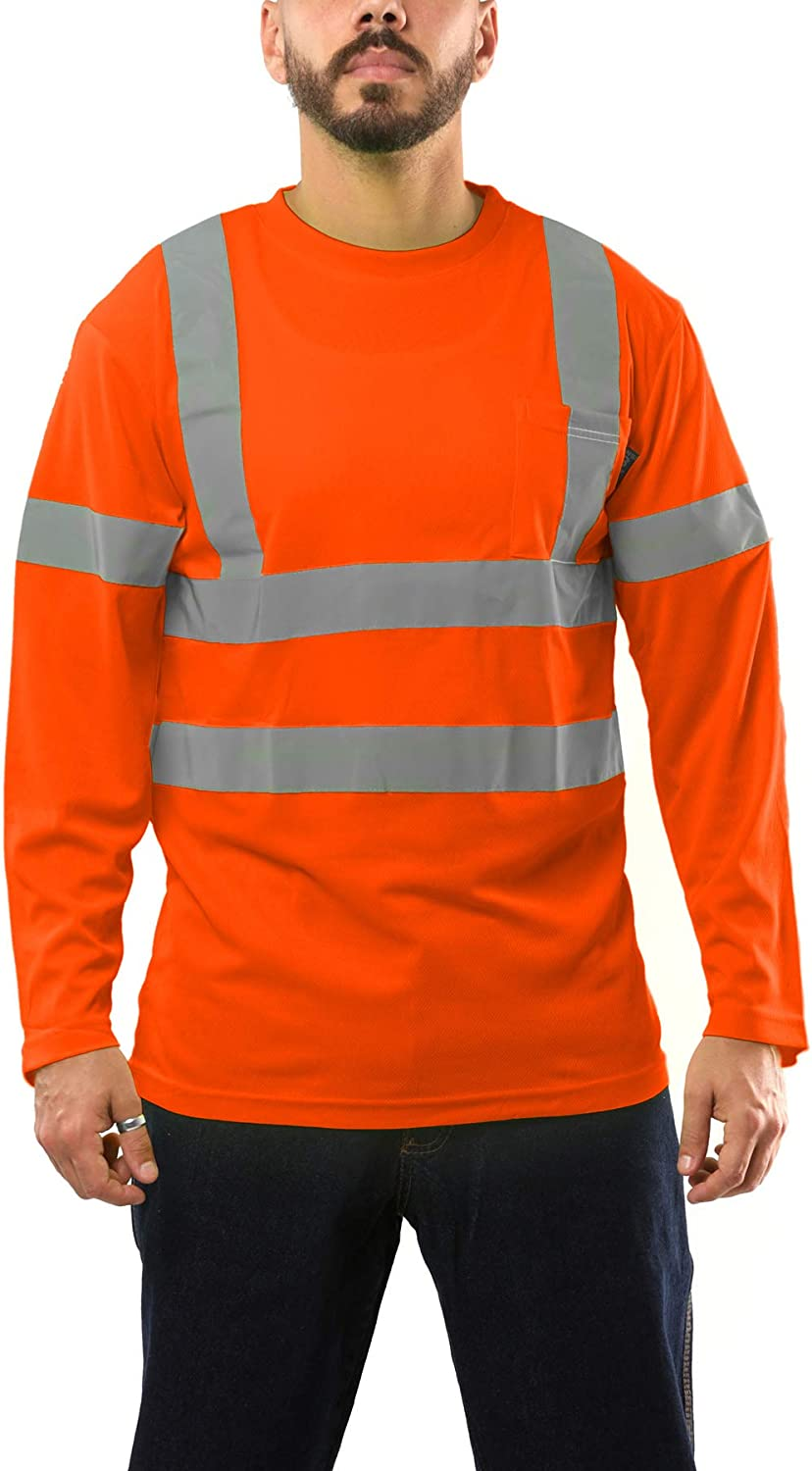 Kolossus High Visibility T Shirt Safety Seattle Mall Reflective 3 Class Super beauty product restock quality top