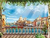 ZHLMMZD Rompecabezas para Adultos, Imagen de Paisaje de Venecia, 6000 Piezas, Juego de Rompecabezas para niños en Edad Preescolar, Aprendizaje Educativo, Familia