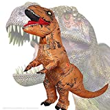 JASHKE Tyrannosaurus Rex Aufblasbare Kostüm Party Geschenk Phantasie Dress up Cosplay Party Costüm