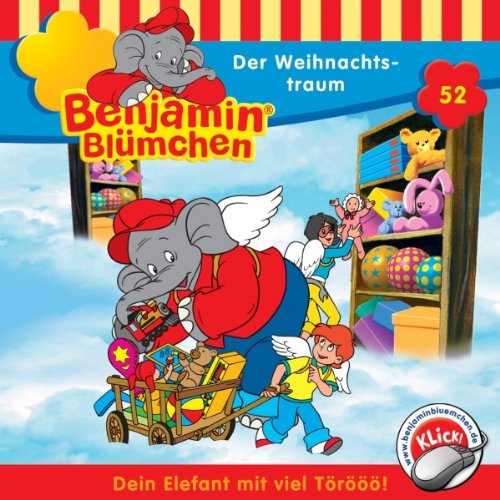 Der Weihnachtstraum (Benjamin Blümchen 52) cover art