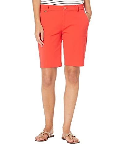 LAUREN Ralph Lauren Petite Bi-Stretch Twill Shorts