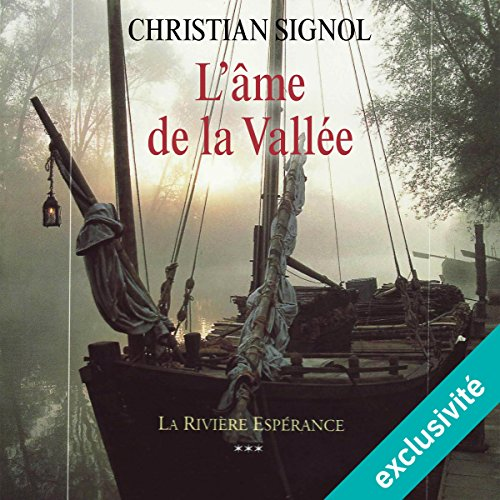 L'âme de la vallée audiobook cover art
