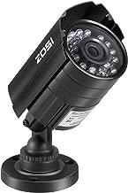 ZOSI 720P HD 1280TVL Hybrid 4-in-1 TVI/CVI/AHD/960H CVBS CCTV Camera 24PCS IR-LEDs Home..