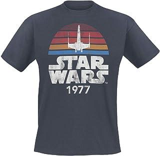 Star Wars Since 1977 Hombre Camiseta Antracita, Regular