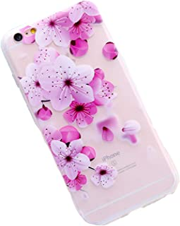 Fashion Frosted Floral for iPhone 6 6S iPhone 7 Soft Silicone Shell 8 Plus X,3,for iPhone 6 6s