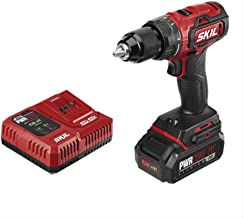 SKIL PWRCore 20 Brushless 20V 1/2 Inch Drill Driver, Includes 2.0Ah Lithium Battery and..
