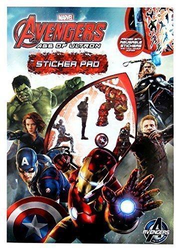 Avengers Pad Autocollant 2 & Stickers Voyage Remplisseurs De Sac De Partie Plaisir Créatif Enfants