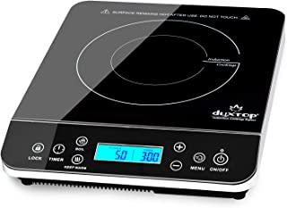 Duxtop Portable Induction Cooktop, Countertop Burner Induction Hot Plate with LCD Sensor..