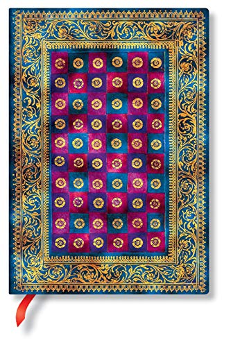 Paperblanks Cuaderno de tapa blanda Flexis Morgen en Venecia | Lineado | Midi (130 × 180 mm)
