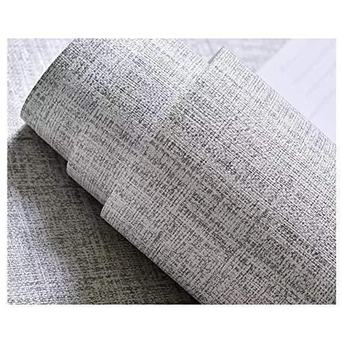 TJLMCORP-Papel tapiz autoadhesivo de tela, cocina, protector contra salpicaduras, pegatinas de pared, adhesivo para puerta, revestimientos para encimeras (40 cm x 300 cm, 15,7 x 118 gris)