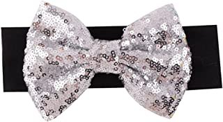 Song Qing Baby Infant Girls Hair Band Sequined Bow Headband Turban Knot Hair Headwear