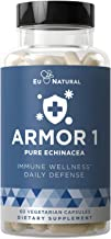 Armor 1 Echinacea Pure 800 Mg – Healthy Immune System Function, Physical Wellness, Potent Strength for Seasonal Protection...