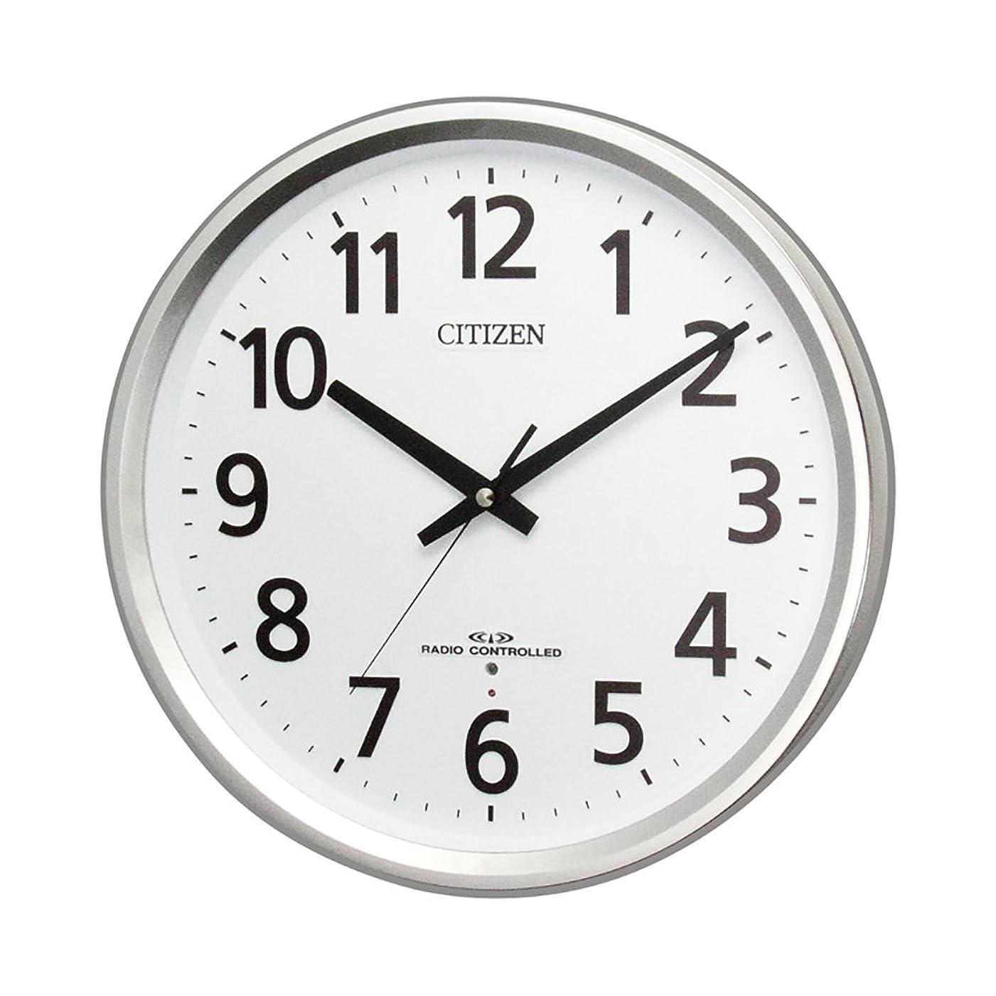 第二にアテンダントボーダーRHYTHM(リズム) CITIZEN 電波時計 パルウェーブ M475 8MY475-019
